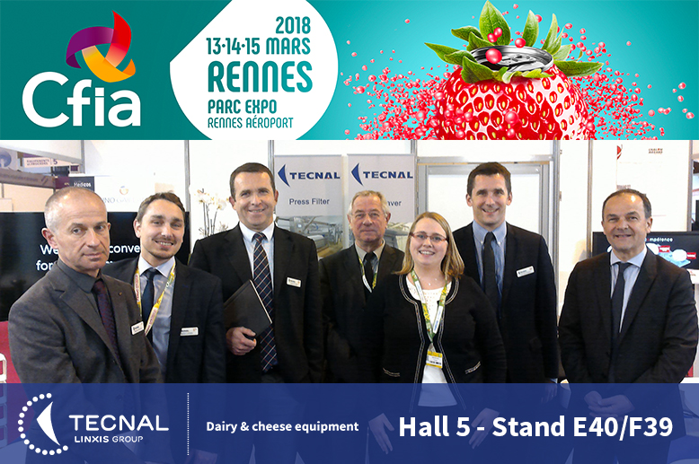Linked In - CFIA Rennes 2018 - Tecnal - Hall 5 - E40 F39