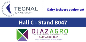 image à la 1 - Linked In - DJAZAGRO 2018 - Tecnal - Hall C - stand B047